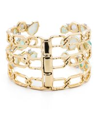 Alexis Bittar - Metallic Mosaic Bypass Hinge Cuff You Might Also Like - Lyst