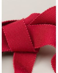 Lanvin | Red 'Acapulco' Short Necklace | Lyst
