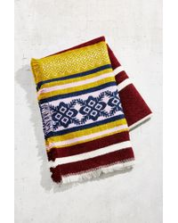 Urban Outfitters | Multicolor Multi Stripe Blanket Scarf | Lyst