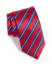 Thomas Pink - Red Woven Silk Tie for Men - Lyst