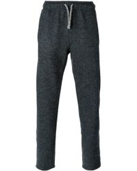 Laneus - Gray Drawstring Trousers for Men - Lyst