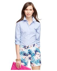 Brooks Brothers - Blue Gingham Shirt - Lyst