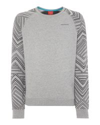 Björn Borg | Gray Hooded Logo Jumper for Men | Lyst