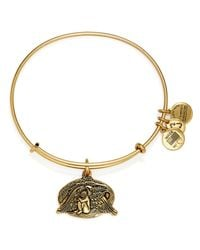 ALEX AND ANI | Metallic Guardian Of Healing Expandable Wire Bracelet | Lyst