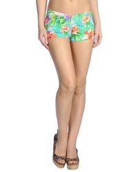 Miss Naory - Blue Boy Short Bikini Bottom - Lyst