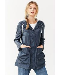 BDG | Blue New Fisherman Rain Coat | Lyst