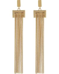 Chloé | Metallic Delphine Chain Earrings | Lyst