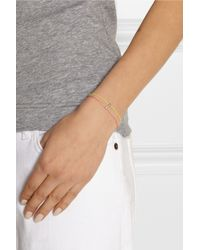 Finds - Pink + Vanessa Tugendhaft Identity Woven, Silver And Diamond Bracelet - Lyst