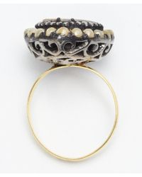 Amrapali | Metallic Yellow And White Diamond 'color Stone' Ring | Lyst