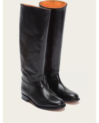 Frye | Black Abigail Riding | Lyst
