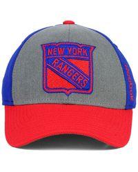 Reebok - Purple New York Rangers Tnt Flex Cap for Men - Lyst