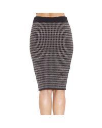 Manila Grace - Black Skirt - Lyst