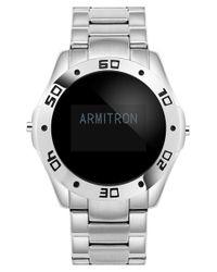 Armitron - Black 'pro Fit' Smart Watch Set for Men - Lyst