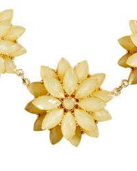 H&M | Yellow Necklace With Floral Pendants | Lyst