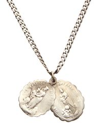 Miansai - Metallic Saints Sterling Silver Necklace for Men - Lyst
