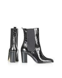 TOPSHOP | Black Molly Chelsea Boots | Lyst