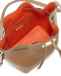Michael Kors - Natural Miranda Medium Drawstring Messenger Bag for Men - Lyst