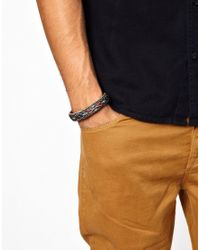 Chamula - Gray Bentable Bracelet for Men - Lyst