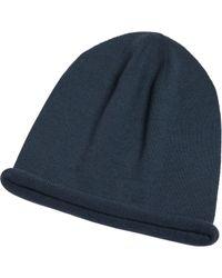 agnès b. - Blue Grey Hat for Men - Lyst