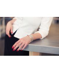 agnès b. - Metallic Silver Infinity Bracelet - Lyst