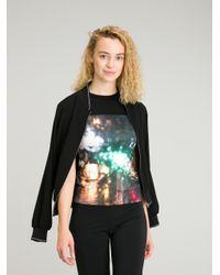 Agnes B. - Multicolor Paris T-shirt - Lyst
