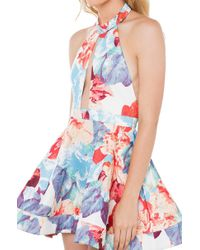 AKIRA | Multicolor Til The End Floral Dress | Lyst