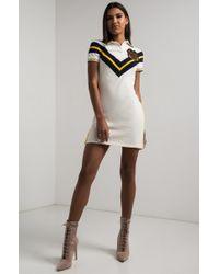 PUMA - White Varsity Tennis Dress - Lyst