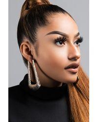 Akira - Metallic Donte Earring - Lyst