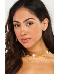 AKIRA - Multicolor Only The Poets Choker - Lyst