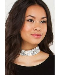 AKIRA - Multicolor See You On One Choker - Lyst