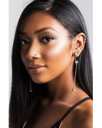 Akira - Multicolor Not Your Princess Earring - Lyst