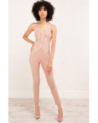 Akira - Multicolor Make You Feel Alright Jumpsuit - Lyst