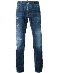 DSquared²   Blue Slim-fit Jean for Men   Lyst