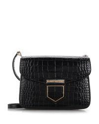 Givenchy | Small 'nobile' Black Crossbody Bag | Lyst