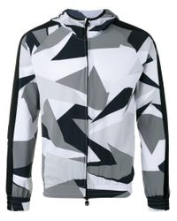 Hydrogen | Gray Camouflage Print Hoodie for Men | Lyst