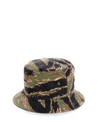 Golden Goose Deluxe Brand   Green Camouflage Hat for Men   Lyst