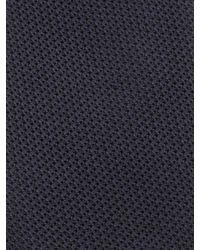 Alexander McQueen - Blue Solid Grenadine Tie for Men - Lyst