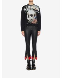 Alexander McQueen - Black Leather Pants - Lyst