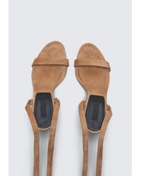 Alexander Wang - Brown Evie High Heel Sandal - Lyst