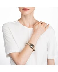 Alexis Bittar - Metallic Crystal Encrusted Liquid Gold Link Soft Bracelet You Might Also Like - Lyst