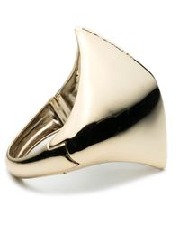 Alexis Bittar - Metallic Liquid Gold Sculptural Hinged Cuff You Might Also Like - Lyst