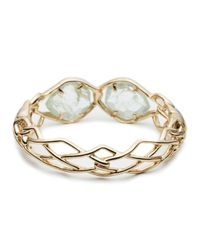 Alexis Bittar - Metallic Liquid Gold Cuff With Aquamarine Hydro Quartz You Might Also Like - Lyst