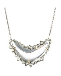 Alexis Bittar - Multicolor Jardin Mystã¨re Jagged Crystal Framed Long Necklace In Clear Lucite You Might Also Like - Lyst