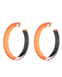 Alexis Bittar - White Large Hoop Earring You Might Also Like - Lyst