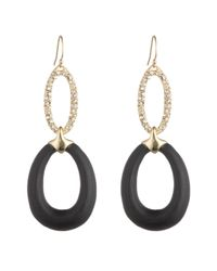 Alexis Bittar - Black Crystal Encrusted Link Drop Earring You Might Also Like - Lyst