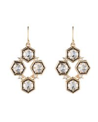 Alexis Bittar - Metallic Mosaic Wire Accented Enamel Earring You Might Also Like - Lyst