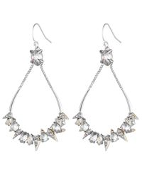 Alexis Bittar - Metallic Crystal Encrusted Mosaic Futuristic Tear Earring You Might Also Like - Lyst