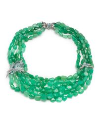 Alexis Bittar | Green Chrysoprase Bead Torsade Necklace You Might Also Like | Lyst