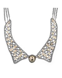 Alexis Bittar | Metallic Jardin Gold Lace Collar Necklace You Might Also Like | Lyst