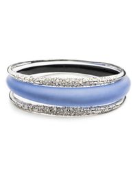 Alexis Bittar - Metallic Crystal Encrusted Triple Stack Bangle Set You Might Also Like - Lyst